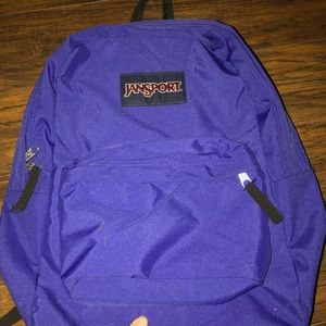 JANSPORT PURPLE BOOKBAG